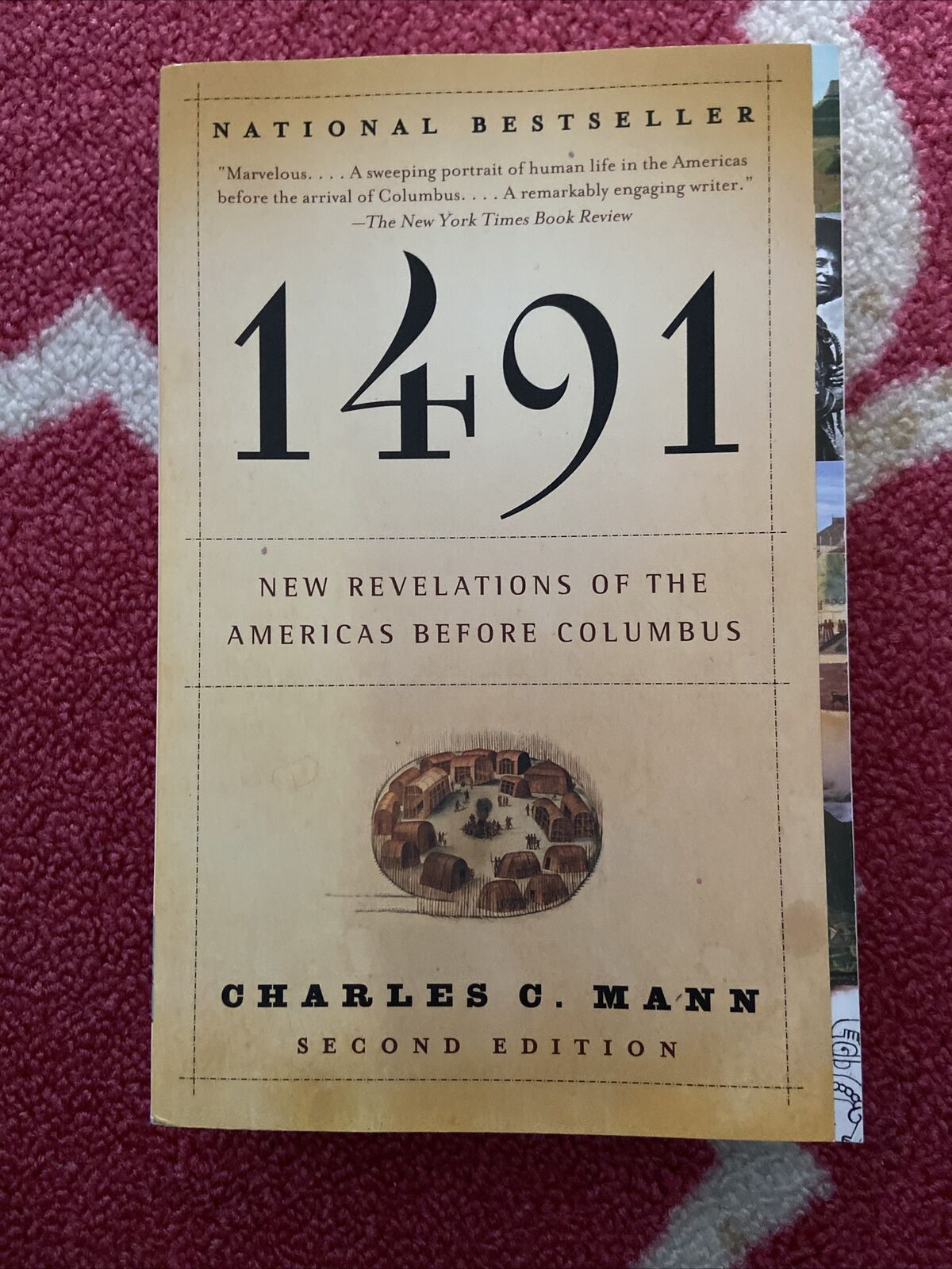 1491 by Charles C. Mann Paperback |