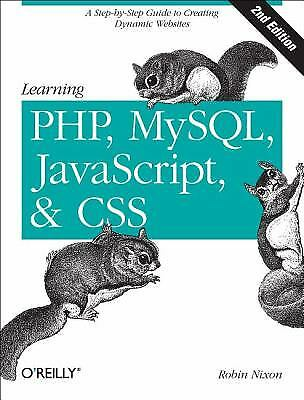 Learning PHP, MySQL, Javascript, and CSS : A Step-by-Step Guide to…  (ExLib) |