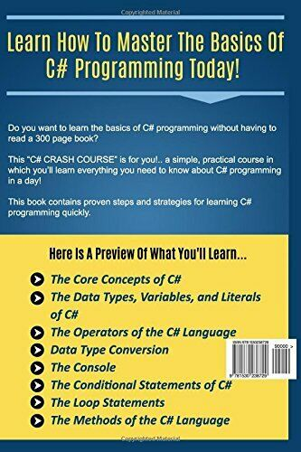 C#: C# CRASH COURSE – BEGINNER'S COURSE TO LEARN BASICS OF C# By Life -style NEW |