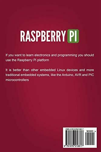 RASPBERRY PI: STEP-BY-STEP GUIDE TO MASTERING RASPBERRY PI 3 By Richard Ray Mint |