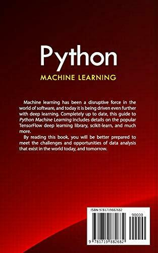 PYTHON MACHINE LEARNING: ULTIMATE HANDS-ON BEGINNER'S By Leonard Lee *BRAND NEW* |