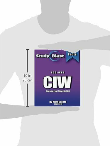 STUDY BLAST CIW JAVASCRIPT SPECIALIST EXAM STUDY GUIDE: By Matt Santori *VG+* |