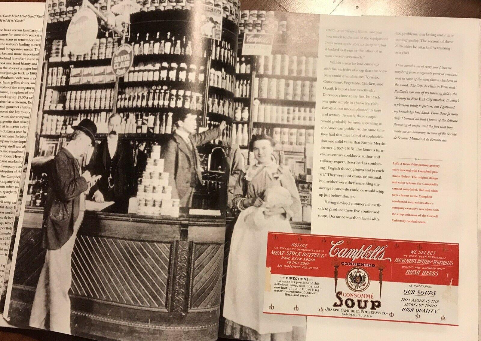 AMERICA'S FAVORITE FOOD THE STORY OF THE CAMPBELL SOUP COMPANY |