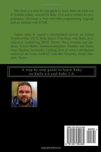 RUBY ON RAILS 4.0 GUIDE: A STEP BY STEP GUIDE TO LEARN By Stefan Wintermeyer NEW |