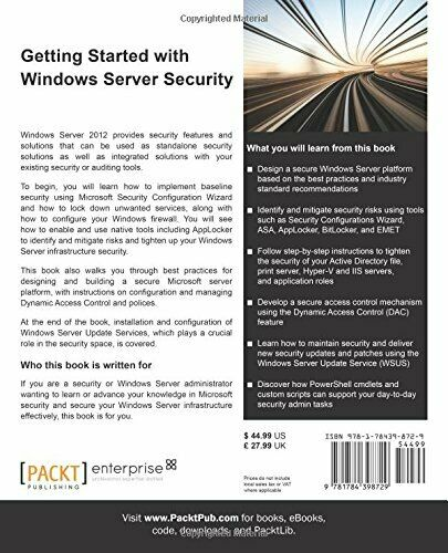 GETTING STARTED WITH WINDOWS SERVER SECURITY By Santhosh Sivarajan |