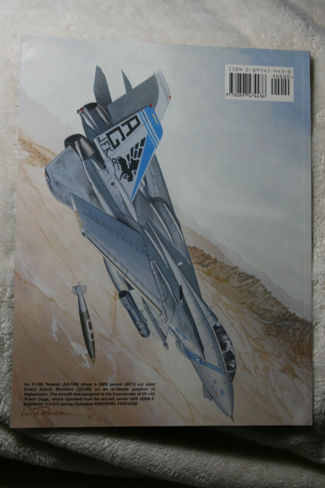 Operation Enduring Freedom Squadron Signal Book # 6123 Very Good Condition |
