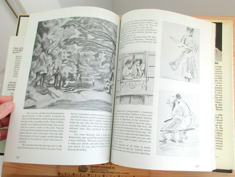 Complete Course in Oil Painting – Four Volumes in One by O. Nordmark 1960 |