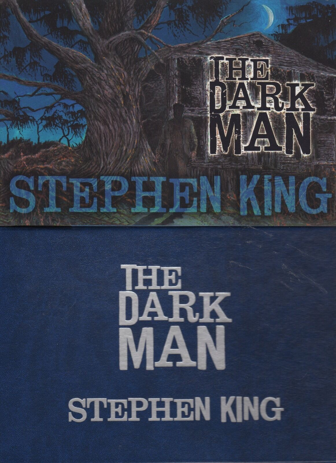 The Dark Man : An Illustrated Poem by Stephen King (2013, Hardcover) |