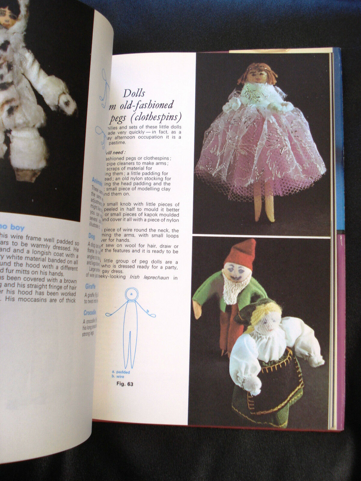 1972 VTG The Big Book of Soft Toys by Mabs Tyler |