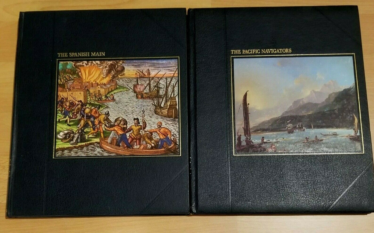 Lot of 5 TIME-LIFE Books – The Seafarers Series 1979 Hardcover |