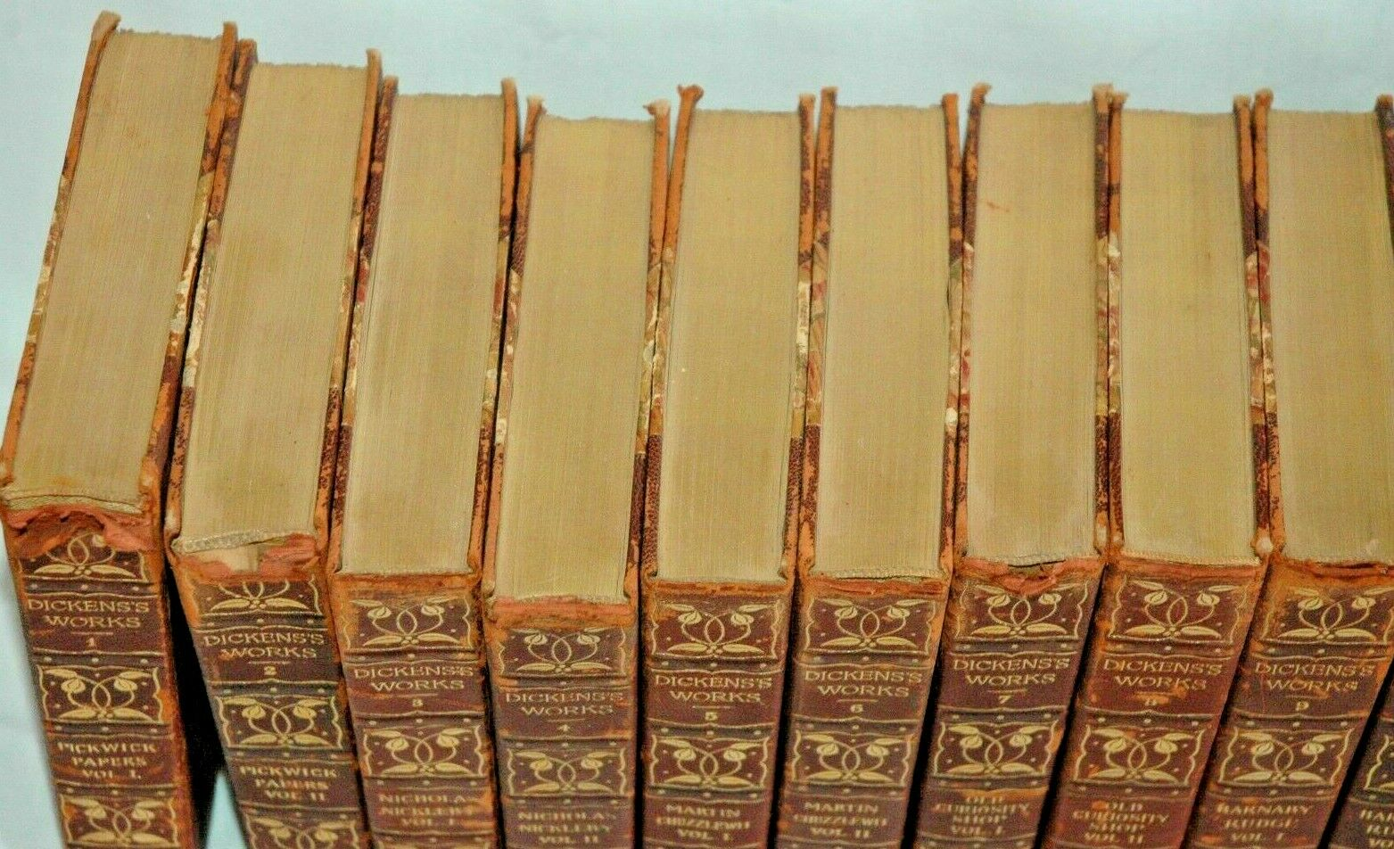 The Complete Works of Charles Dickens – 30 Vol Set – c.1900 Ltd Edition of 1000 |