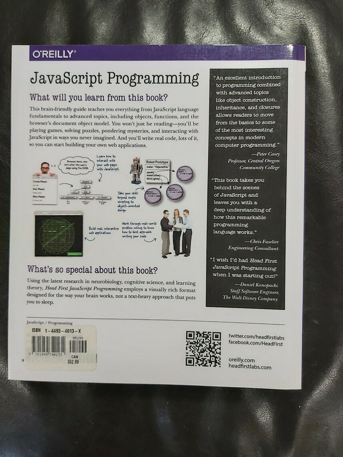 Head First Javascript Programming A Brain Friendly Guide |
