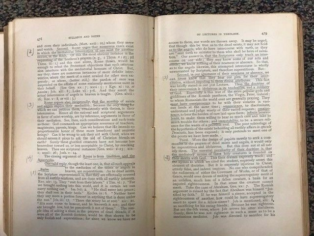 R. L. Dabney: Systematic Theology (5th edition), 19th c. Southern Presbyterian  