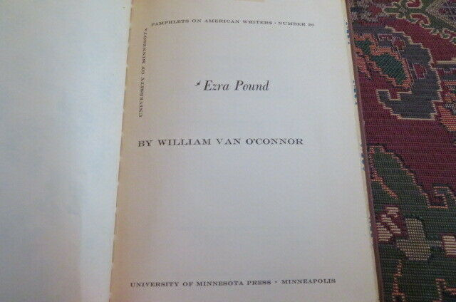Rare Lot of 4 Ezra Pound books of Critical essays – Casebook on, 20th C. Views, |