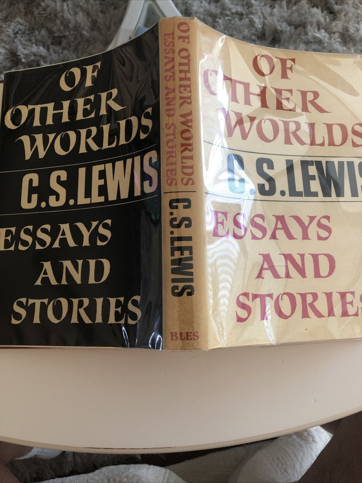*EXTREMELY RARE* Of Other Worlds C. S. Lewis UK 1st Ed 1st Printing VG+/VG+CLEAN |
