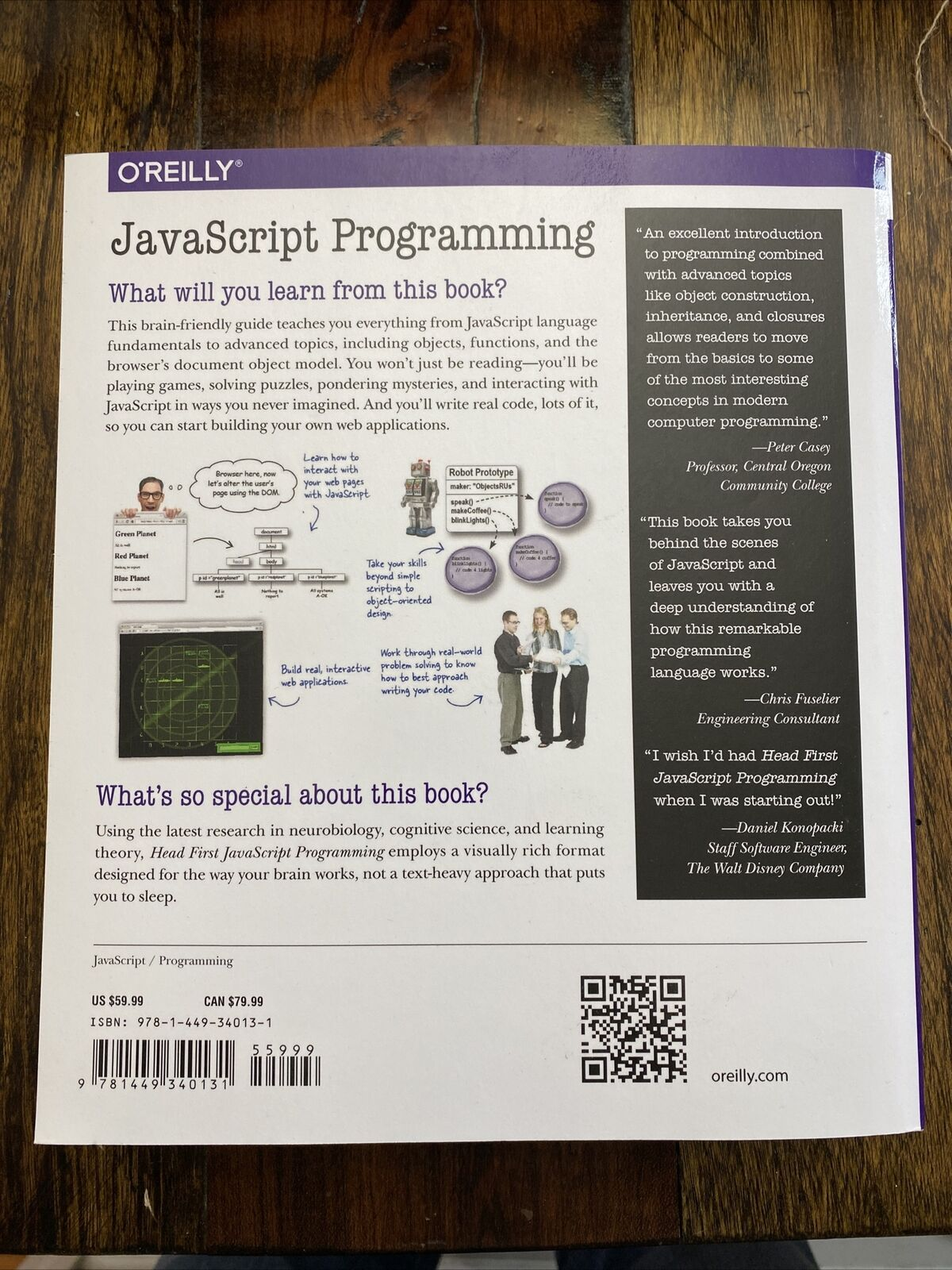 Head First Javascript Programming A Brain-Friendly Guide |