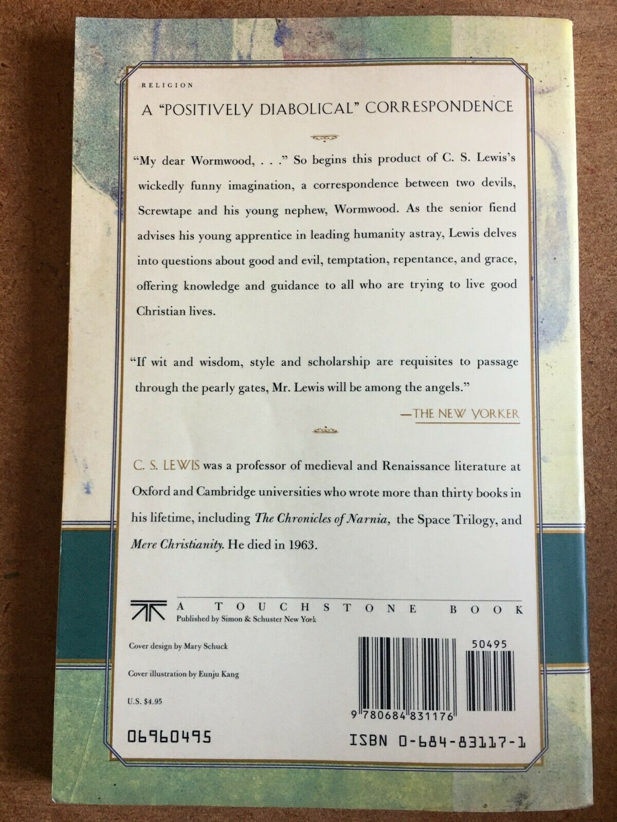 The Screwtape Letters by C. S. Lewis (1996, Trade Paperback, Revised edition) |