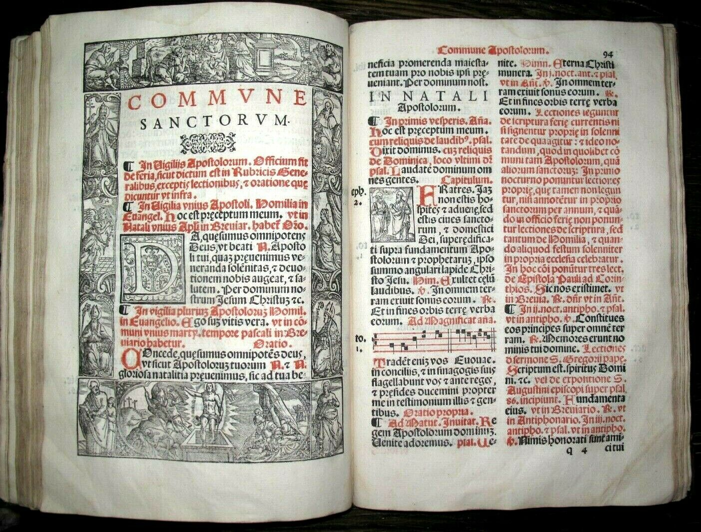 c1515 CATHOLIC Rituals BREVIARY Prayer MISSALE Latin POST INCUNABLE Book CHURCH |