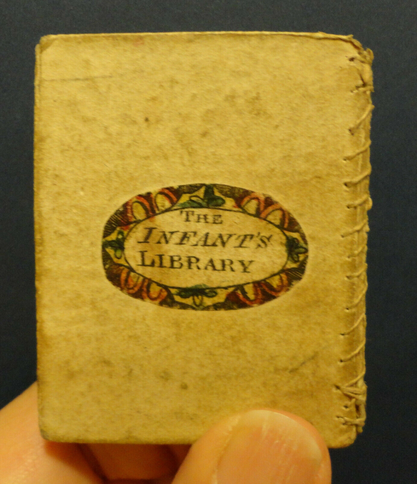 "RARE ANTIQUARIAN MINIATURE BOOK ""INFANT'S LIBRARY BOOK 11"" JOHN MARSHALL c. 1800 