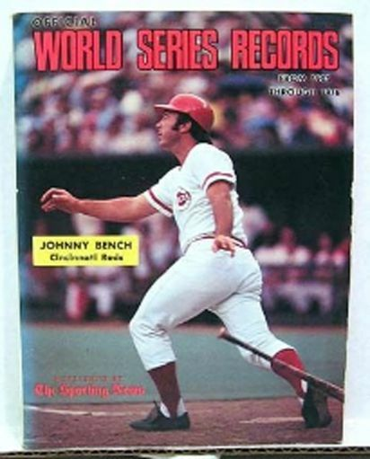 1903-1976 WORLD SERIES RECORDS Johnny Bench |
