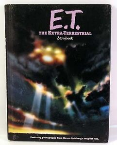 1982 E.T. THE EXTRA-TERRESTRIAL Full Color STORYBOOK |