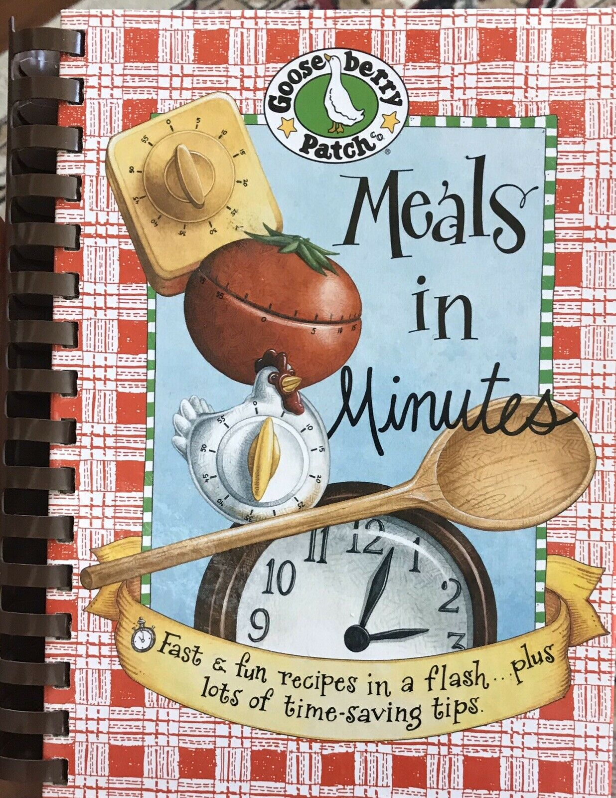 2005 GOOSEBERRY PATCH COOKBOOK MEALS IN MINUTES QUICK RECIPES COOK BOOK |