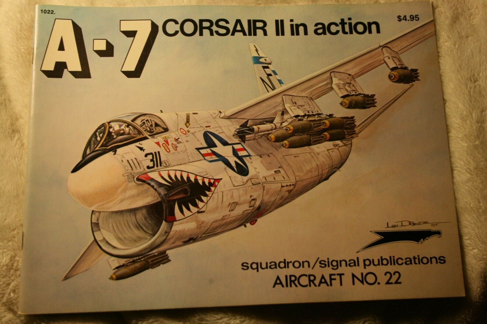A-7 Corsair II in Action Squadron Signal Book # 1022 Very Good Condition |