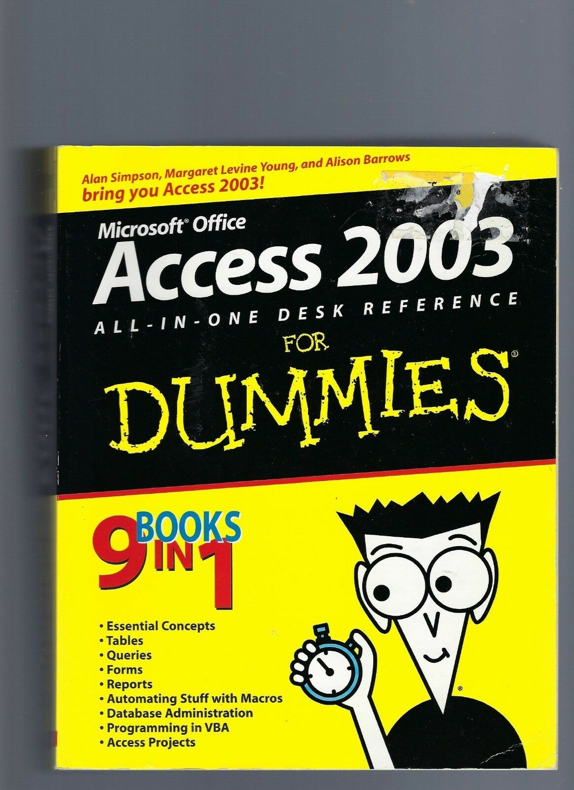Access 2003 All-in-One Desk Reference for Dummies® by Alison Barrows, Alan… |