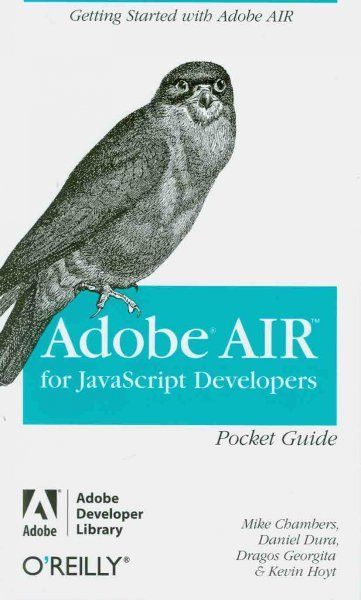 Adobe AIR for Javascript Developers, Paperback by Chambers, Mike; Dura, Danie… |