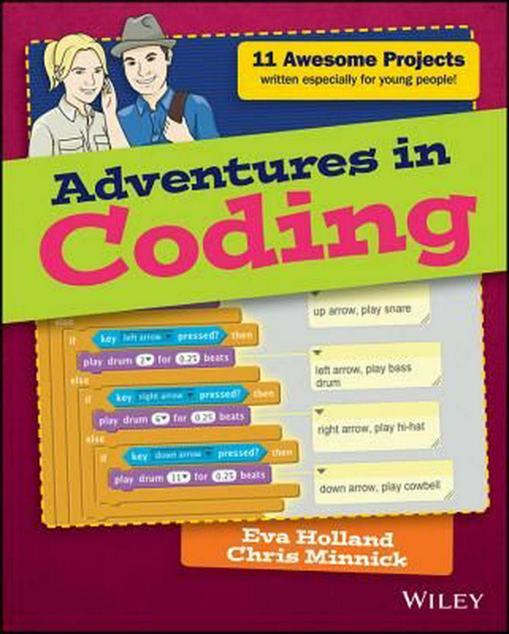 Adventures in Coding by Eva Holland (English) Paperback Book Free Shipping! |