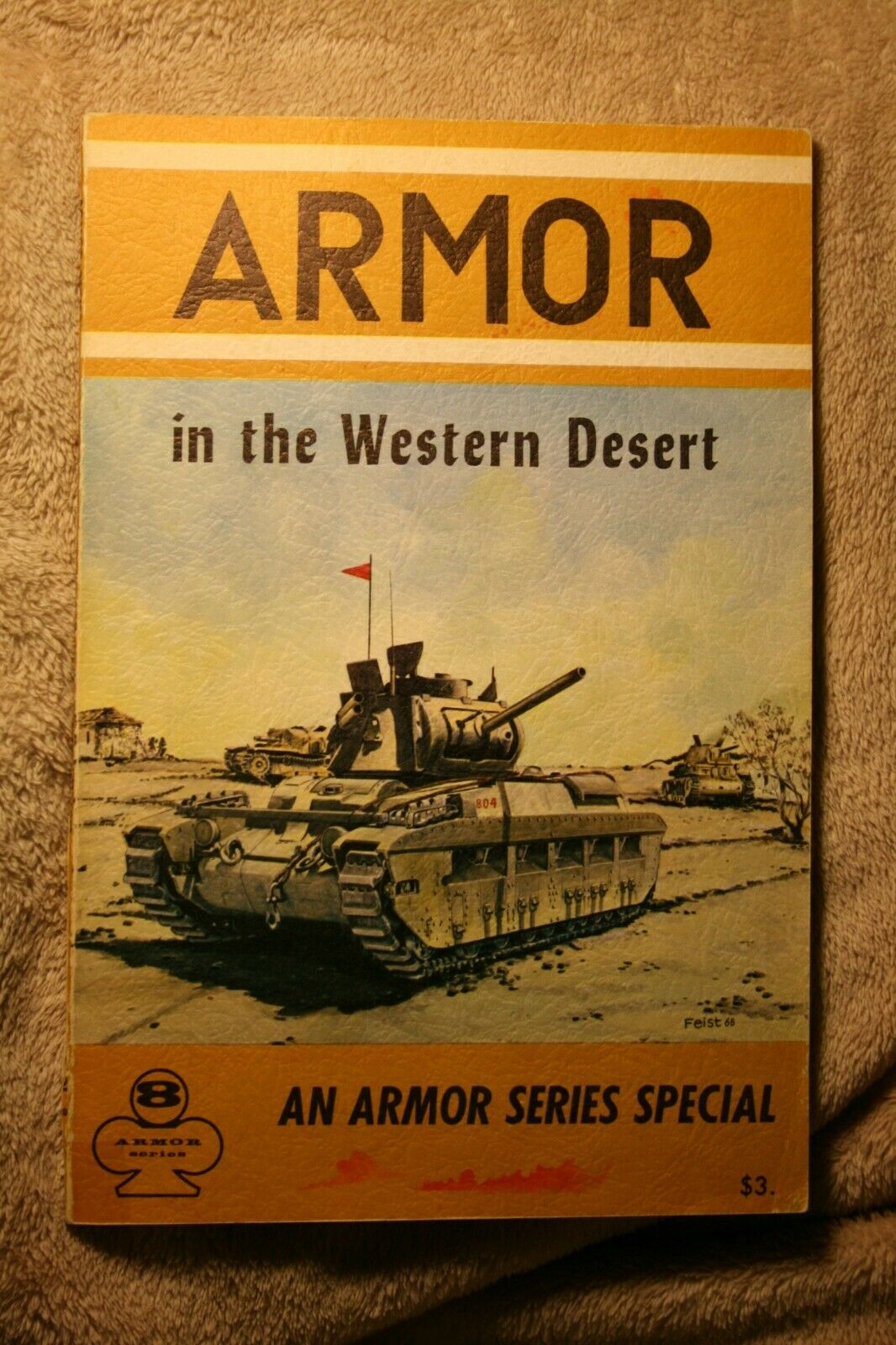Armor in the Western Desert Aero Series Publishing book # 8 Good Condition |