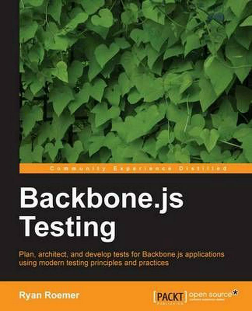 Backbone.Js Testing by Ryan Roemer (English) Paperback Book Free Shipping! |