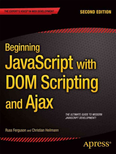 Beginning JavaScript with DOM Scripting and Ajax, Paperback by Ferguson, Russ… |