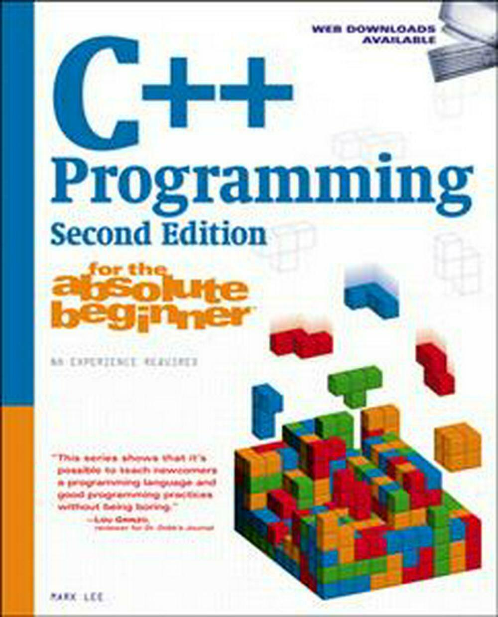 C++ Programming for the Absolute Beginner by Mark Lee (English) Paperback Book F |