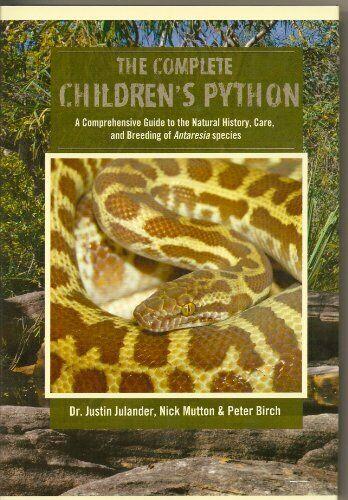 COMPLETE CHILDREN'S PYTHON : A COMPREHENSIVE GUIDE TO NATURAL By Nick Mutton |