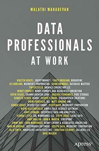 DATA PROFESSIONALS AT WORK By Malathi Mahadevan **BRAND NEW** |