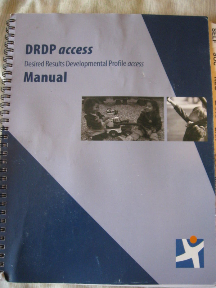 DRDP Desired Results Developmental Profile Access Manual Ca Dept of Ed CL2-11