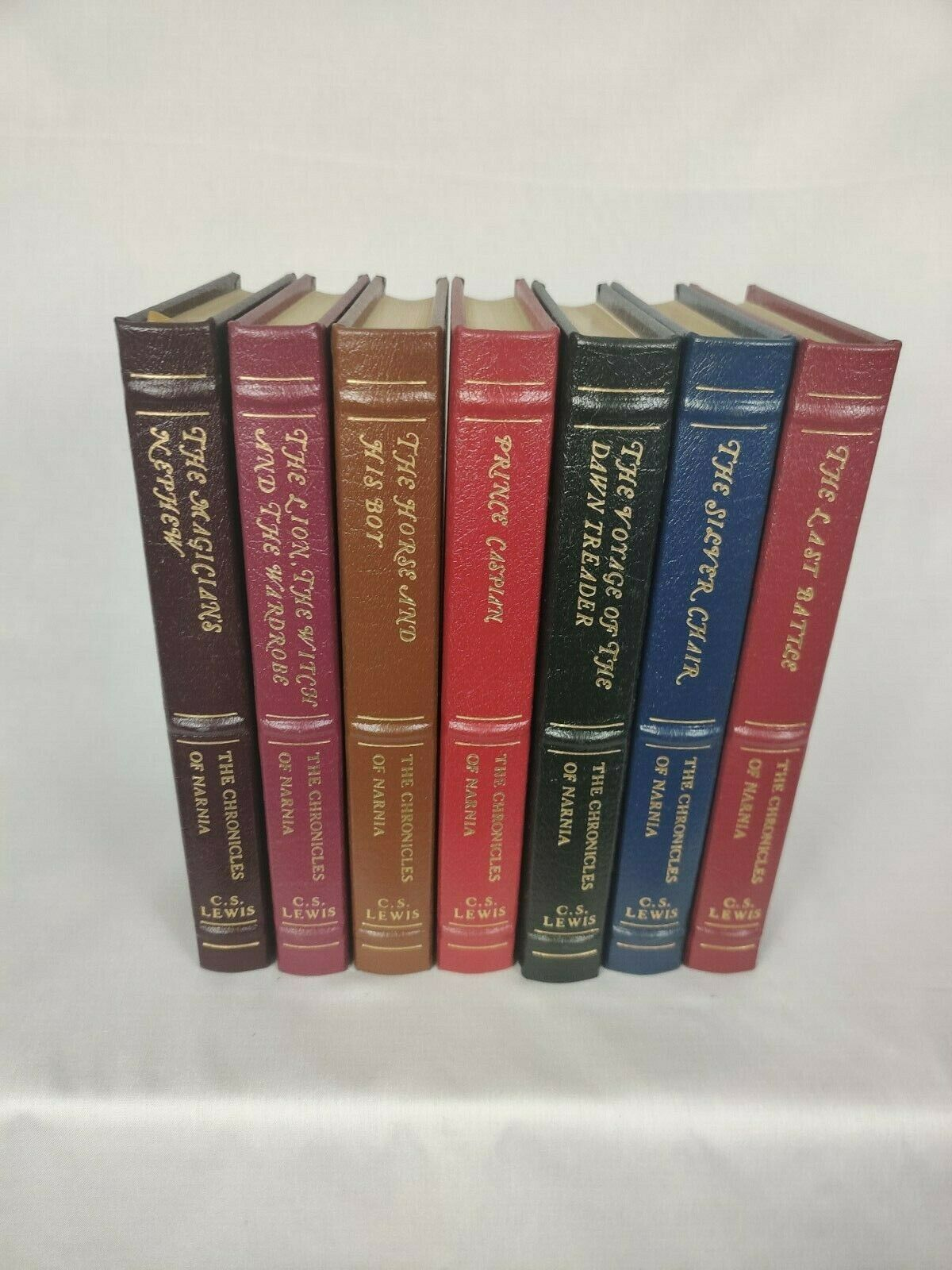Easton Press The Chronicles of Narnia C. S. Lewis complete 7 volume set  