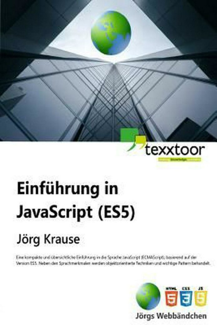 Einfuhrung in JavaScript by Jorg Krause (German) Paperback Book Free Shipping!