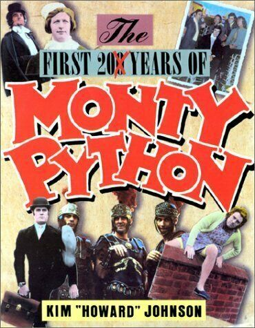 """FIRST 20 YEARS OF MONTY PYTHON By Kim """"howard"""" Johnson *Excellent Condition* 