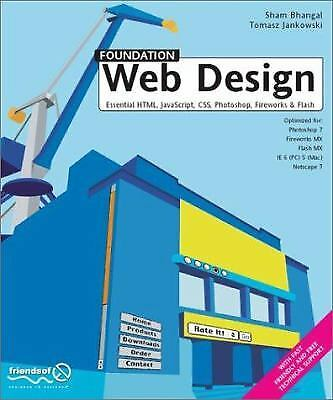 Foundation Web Design : Essential HTML, JavaScript, CSS, Photoshop,…  (ExLib) |