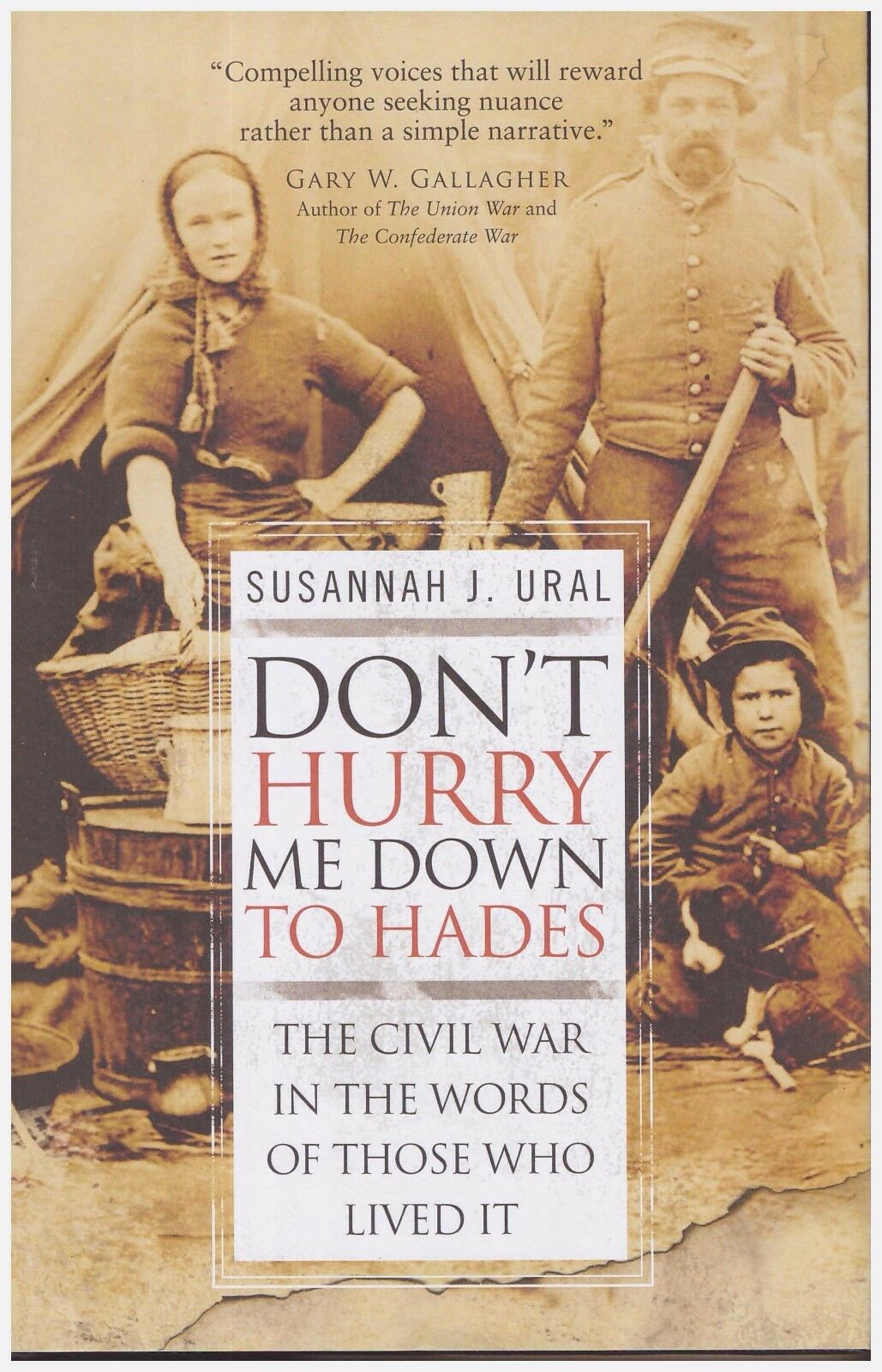 General Military: Don't Hurry Me down to Hades : The Civil War in the Words… |
