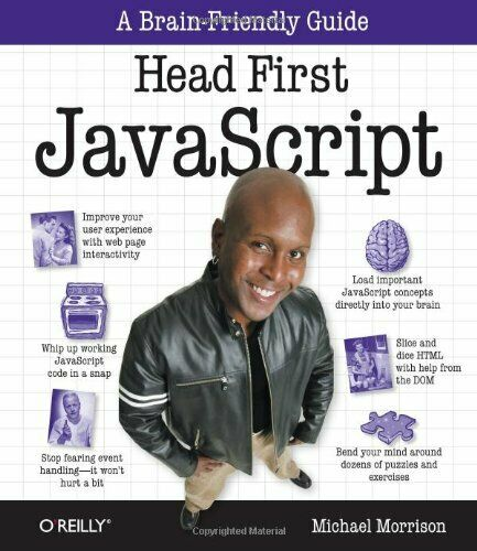 HEAD FIRST JAVASCRIPT By Michael Morrison **Mint Condition** |