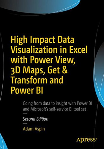 HIGH IMPACT DATA VISUALIZATION IN EXCEL WITH POWER VIEW, By Adam Aspin BRAND NEW |