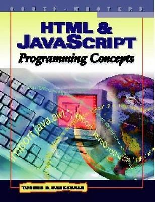 HTML and JavaScript Programming Concepts |
