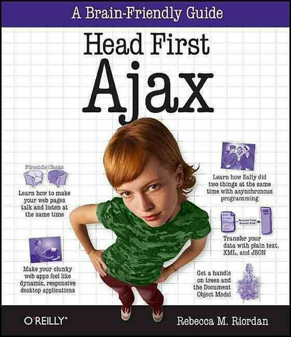 Head First Ajax by Rebecca M. Riordan (English) Paperback Book Free Shipping! |