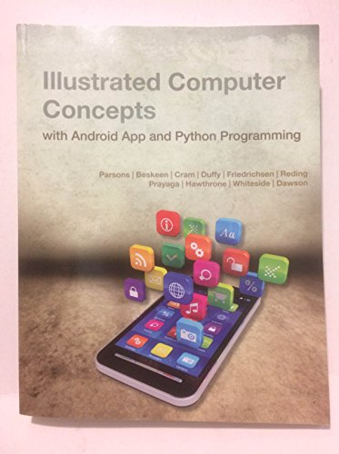 ILLUSTRATED COMPUTER CONCEPTS WITH ANDROID APP AND PYTHON **Mint Condition** |