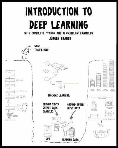 INTRODUCTION TO DEEP LEARNING: WITH COMPLETE PYTHON AND By Juergen Brauer *NEW* |