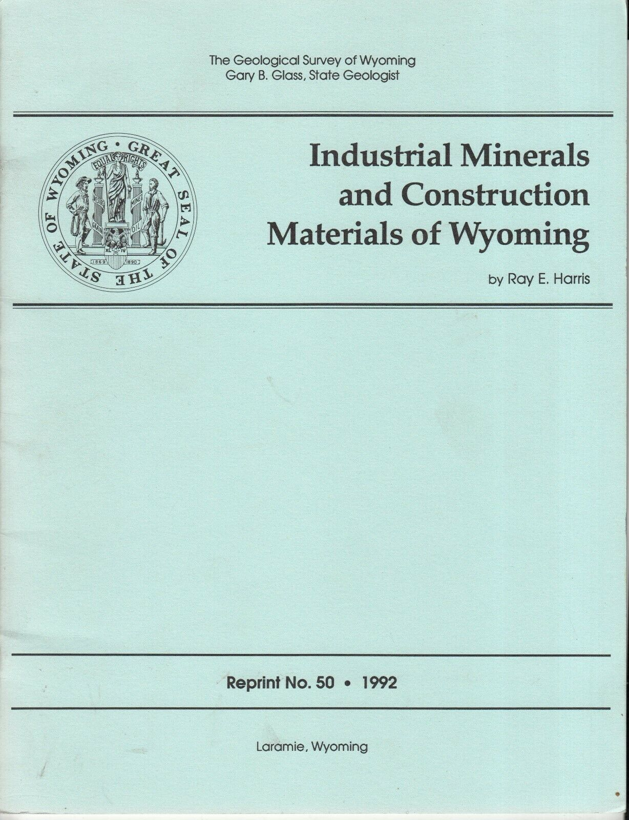 Industrial Minerals Construction Materials Wyoming |