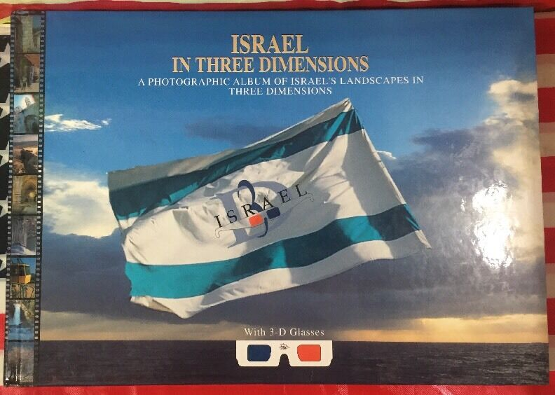 Israel in Three Dimensions 3D Photo Book |